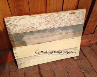 Blank Wood Sign - Reclaimed Beadboard - Small Size