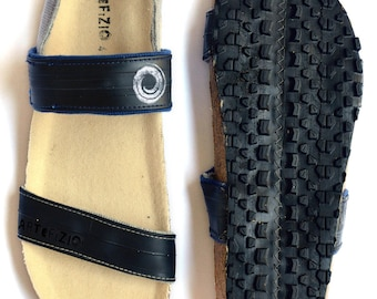 Pneu sandal man vegan - inner tube and fabric