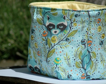 Ice Fabric Bucket - Racoon Blue  - Small
