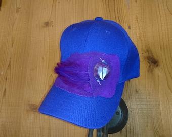 PURPLE BALL CAP
