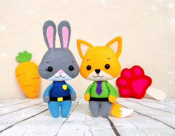 Zootopia Judy Hopps Nick Wilde Paw Popsicle Carrot Gift For