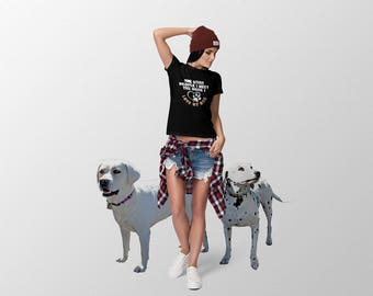 The More People I Meet The More I Love My Dog Gift Women's Short Sleeve T-Shirt