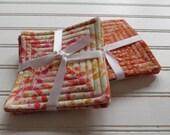 Set of 4 Reversible Quilt...