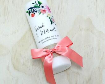Wedding Candle - Romantic Blossom