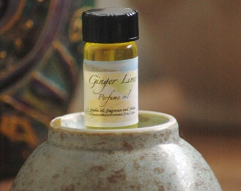 Ginger Lime Perfume oil 2 Dram