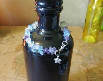 Child's Rainbow Fluorite Bracelet
