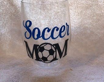 Soccer Moms Wine Glass