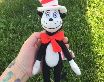 1990s Dr Suess Cat In The Hat Plush