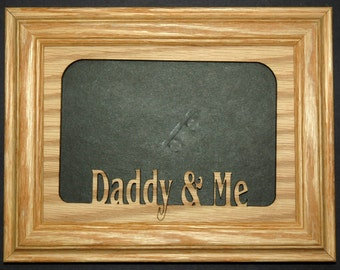 Daddy and Me Picture Frame 5x7