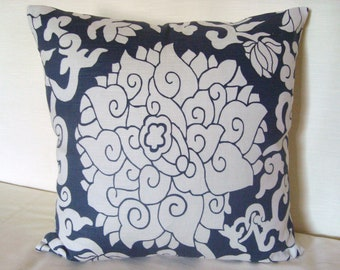 SALE- 25% OFF Decoratiive Accent Toss Pillow Thomas Paul Print  20x20 Pillow Cover