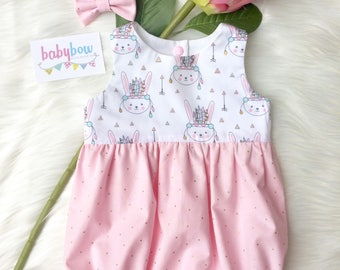 Lucy bubble romper