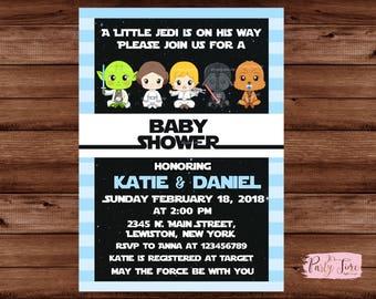 Star Wars Baby Shower Invitation ...