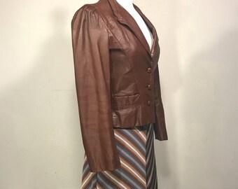 Leather Loft Jacket