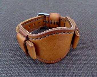 Handmade BUND watch band 20 mm.