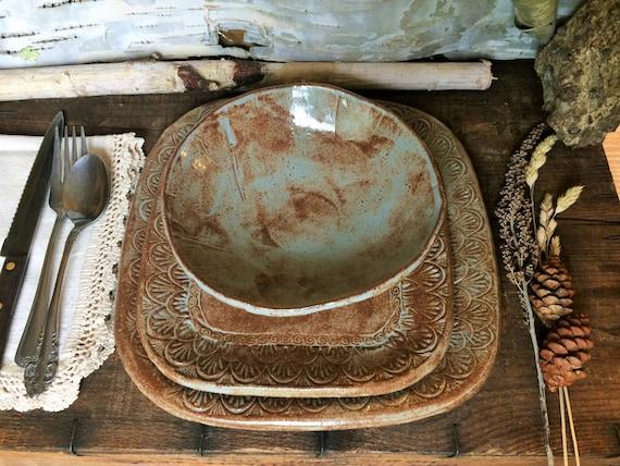 Like this item? & Southwestern Dinnerware Set Dinner Plate Salad Plate Bowl