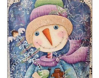 Huckleberry Snow by Deb Antonick, email pattern packet