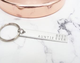 Best auntie gifts, coolest aunt keychain, gift for auntie, best aunt ever
