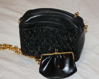 Chanel bag with coin purse