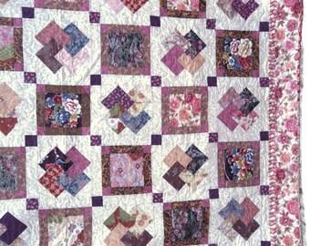 Patchwork Quilt, Victorian Card Trick