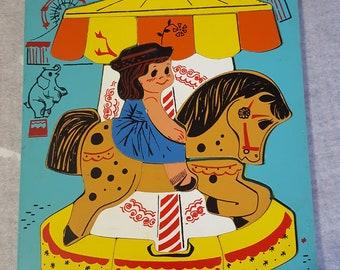 Vintage, Playskool puzzle