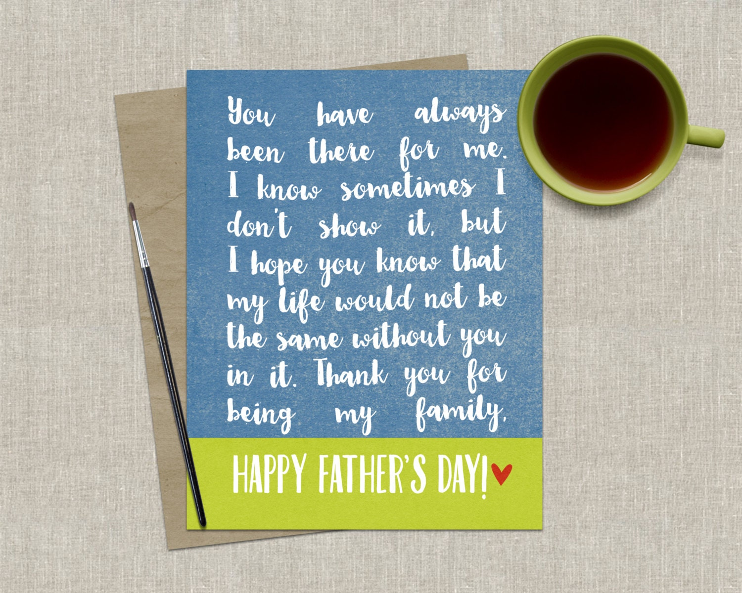Awesome fathers day card heartfelt fathers day zoom kristyandbryce Gallery