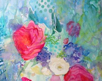 Spring Bouquet-- Fine Art Print