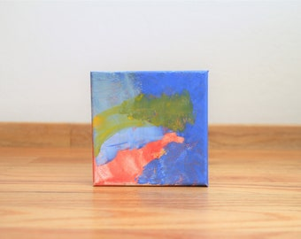 Abstract Painting - Small Works - Repose 2