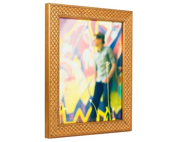 Craig Frames, 24x32 Inch Antique Gold Picture Frame, Lenox ...