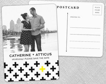 You + Me - Postcard - Save-the-Date