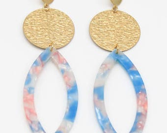 Malta Luxe Drop Earrings