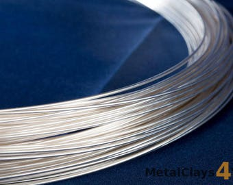 925 Sterling Silver Round Wire (Soft)