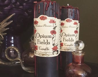 Opium Fields Candle