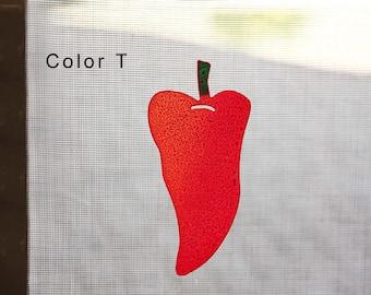 Chili Pepper Magnetic Screen Saver
