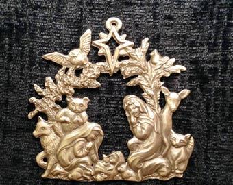 2017 Annual Ornament Woodland Nativity