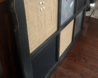 Memo Board-Office or Entryway Organization 3'X5' , Chalkboard, Magnet Board, Corkboard.