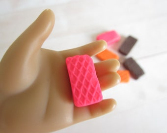 Wafers for American Girl Dolls / Wafers for Our Generation Dolls / Kawaii Cute Food for Dolls / for American Girl and Our Generation Dolls