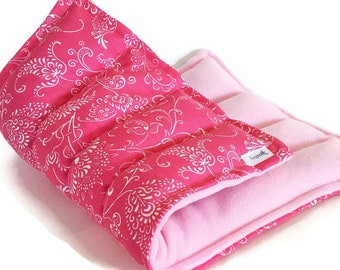 Large Heat Pack, Flax Rice Bag, Micowave Heating Pad, Scented or Unscented, Back, Hips, Tummy, Home Essentials, Serenity Gift for Retirement