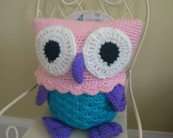 Cute, Cuddly Stuffed Owl
