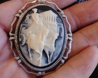 Chariot Ride Brooch. Buyers Choice