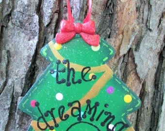 Dave Matthews Dreaming Tree Ornament, DMB Decor, Dave Matthews art, DMB Christmas