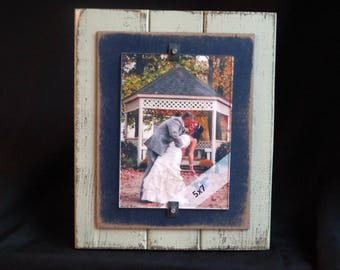 SALE Farmhouse Picture Frame Rustic Picture Frame Barnwood Picture Frame Gallery Frame Set 5x7