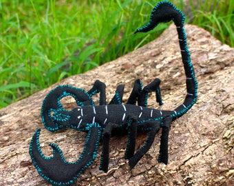 Felt Scorpion, Black