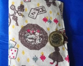 Cute little wonderland tea wallet