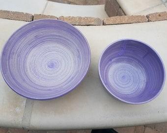 Lilac Soup Bowl