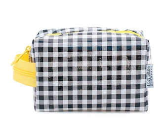 Oilcloth Make Up Bag Cosmetic Case Small