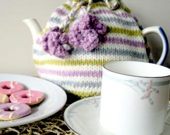 Simple Stripe Tea Cosy Pattern