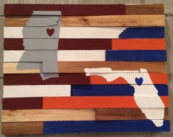 House Divided School Spirit Wall Art