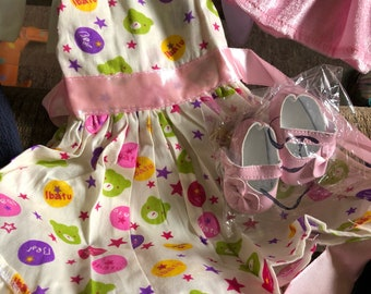Large Lot if 18 in Doll Clothes & Shoes