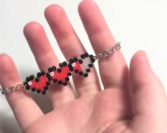Zelda Heart Container Bracelet Jewelry