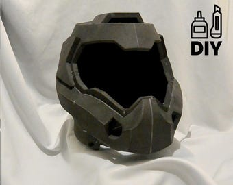 DIY DOOM4 - helmet template for EVA foam